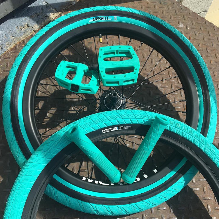 Merritt BMX Tiffany Blue Colorway