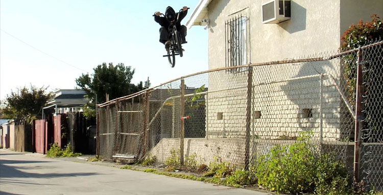 Odyssey BMX - Broc Raiford Passageways Video