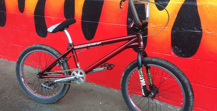 Animal – Steven Hamilton Bike Check