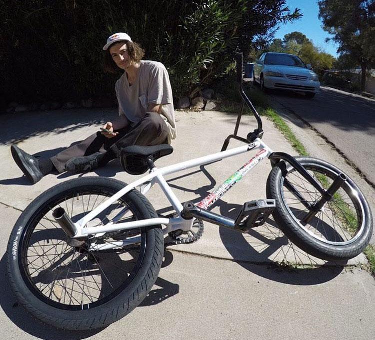 Subrosa Brand Noster S BMX frame Simone Barraco