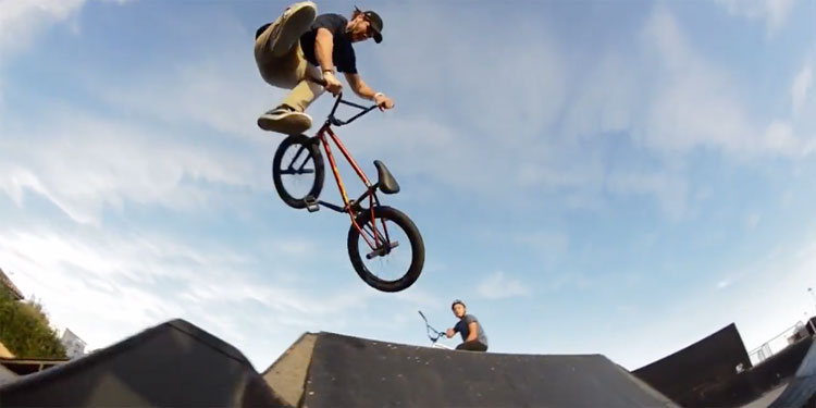 Unleaded BMX – Local Rep: Axel Andrez For Kink