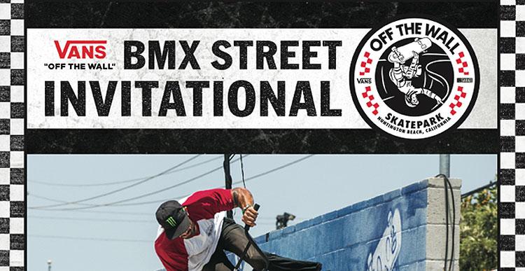 Vans – 2017 BMX Street Invitational Flyer