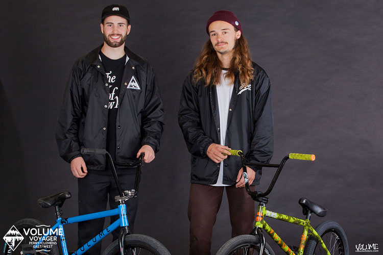 Billy Perry Josh Clemens Volume Bikes Voyager Bike Check