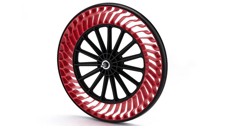 Bridgestone Air-Free Bicycle Tire? Is This The Future?