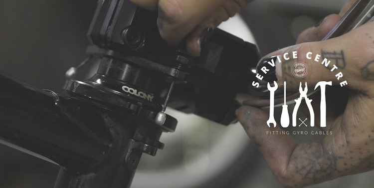 Colony BMX – How To Install Gyro Cables