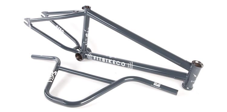 Fit Bike Co. Wifi V2 BMX frame Mac 10 bars Dark Grey