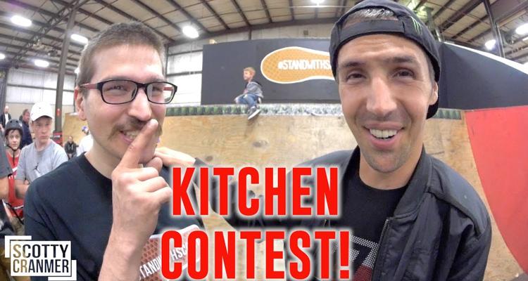 Scotty Cranmer – Kitchen Skatepark Contest