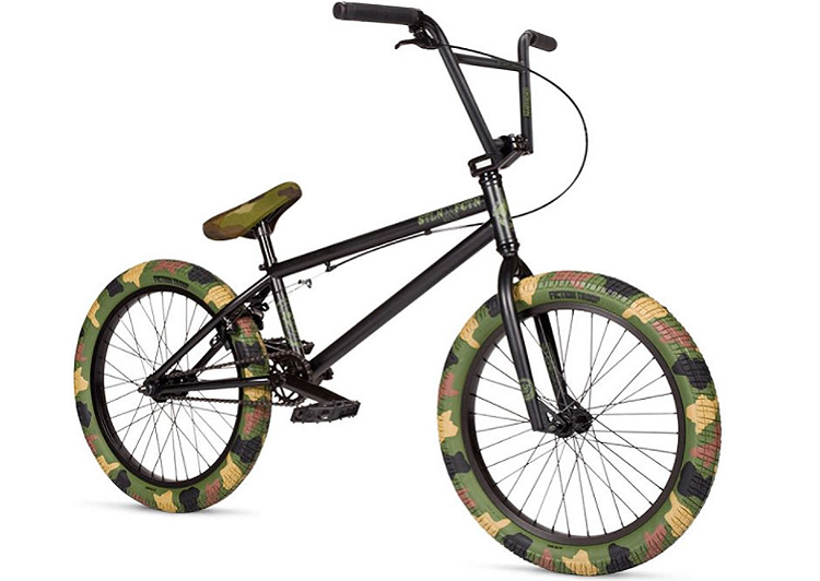Stolen Bikes Fiction BMX Camouflage Complete BMX Bike