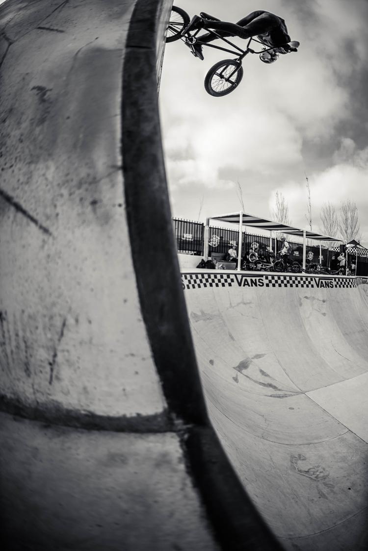 Vans BMX Pro Cup Malaga - Dennis Enarson Tire Slide
