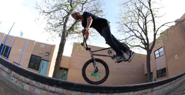 Devin Burks Pusher BMX Shop Denver Colorado