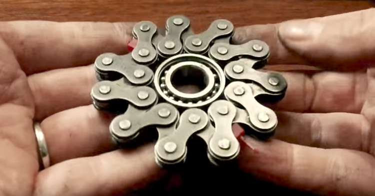 How To Make A Bike Chain Fidget Spinner