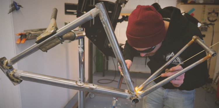 Inspired By BMX: Ricky Feather – Frame Builder