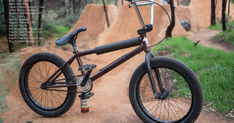 Terrible One – Russell Brindley Bike Check