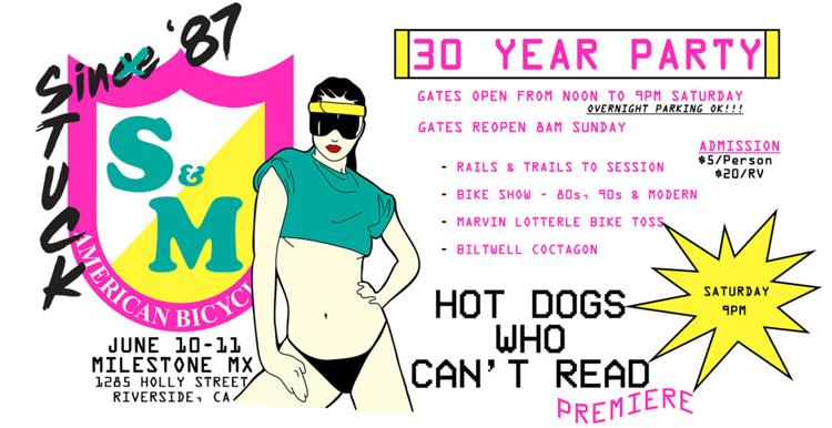 S&M Bikes 30 Year Anniversary Bash