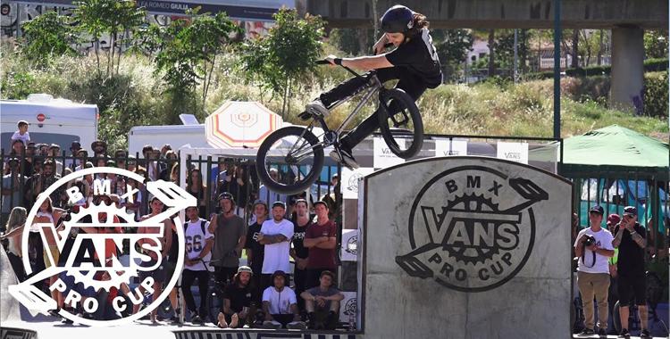 Vans BMX Pro Cup Malaga – Corey Walsh 2nd Place Run