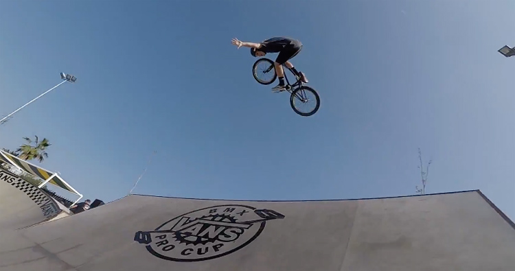 Vans BMX Pro Cup Malaga – POV Course Preview