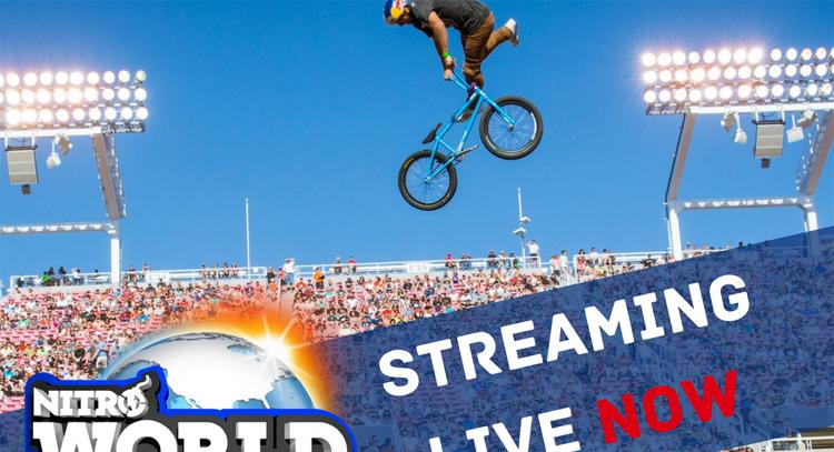2017 Nitro World Games Live Stream