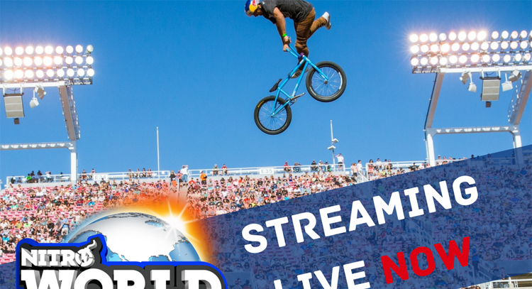 2017 Nitro World Games Live Stream
