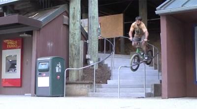 Andy Maguire Slug Luv BMX video