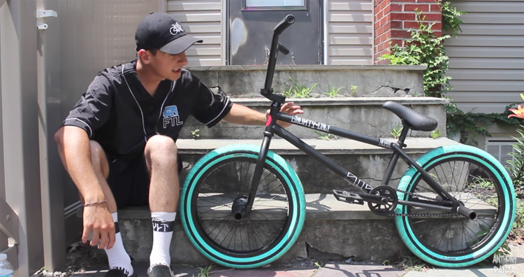 Want To Win Anthony Panza's Bike?