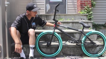 Anthony Panza BMX Bike Giveaway and Bike Check