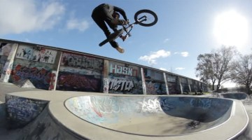 Back Bone Video Mix Section BMX video