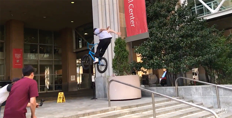 Billy Perry – BMX Adventures In Uptown New York City