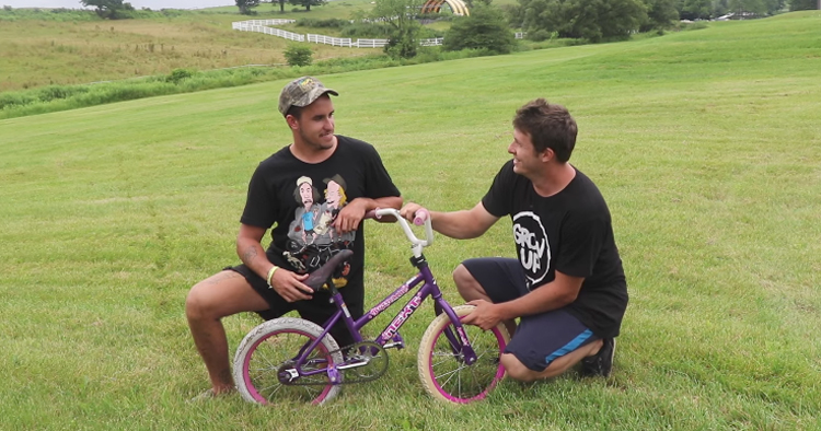 Game of Princess BIKE: Trey Jones Vs. Spencer Foresman