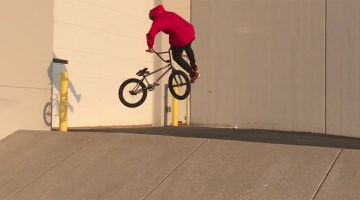 Isaiah Johnson BMX video Spring 2017