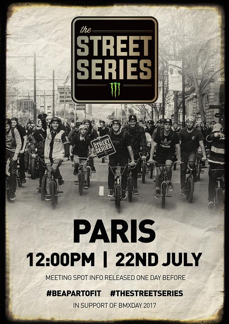 Monster Energy Street Series Paris BMX 2017