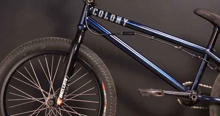 Colony BMX – Paulo Saçaki Video Bike Check