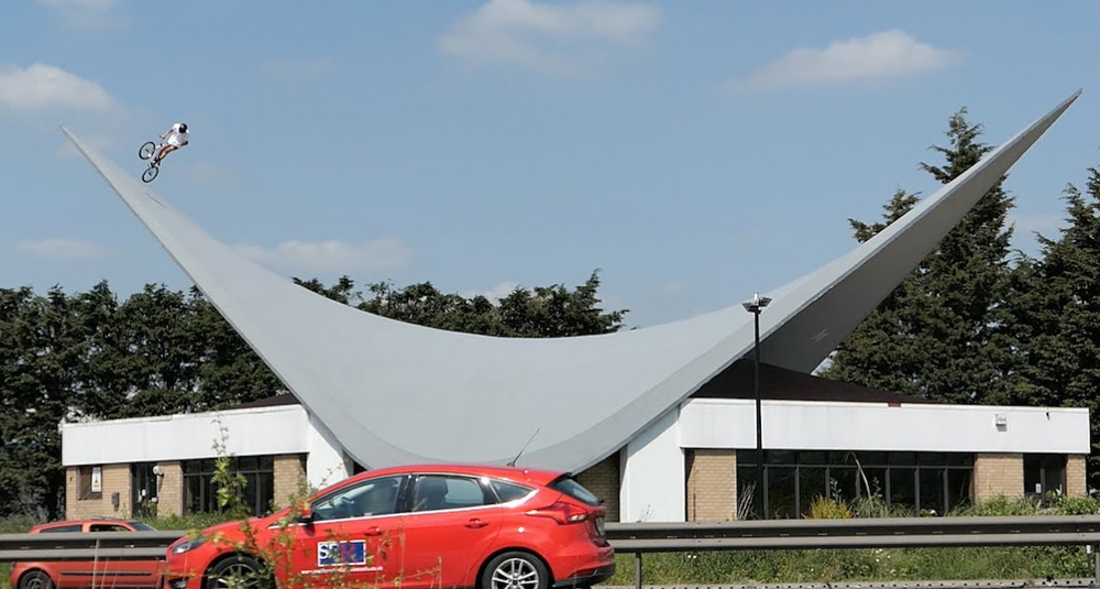 Tall Order – This Roof Was Made For BMX