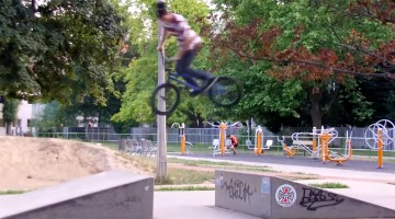 Tibor Molnar BMX video