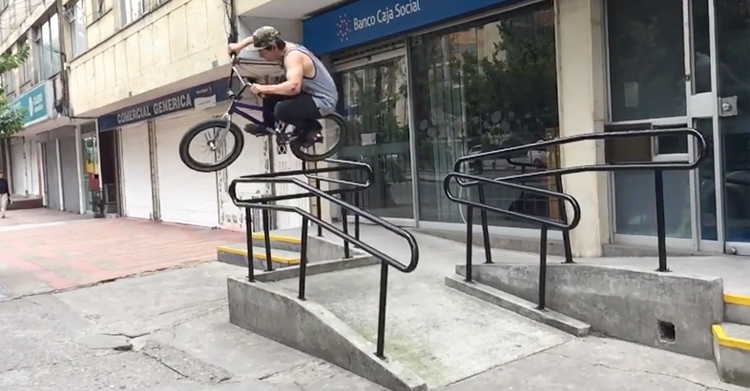 Animal Bikes David Correa BMX video