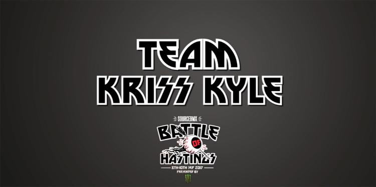 Battle of Hastings 2017 – Team Kriss Kyle