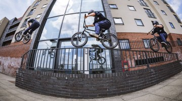 Ben Gordon In Manchester BMX Video