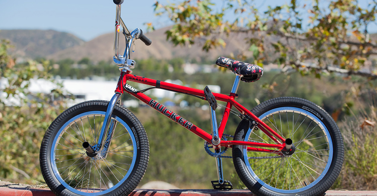 "Demolition Parts – Mike ""Hucker"" Clark Bike Check"