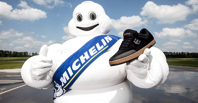 Etnies Have Teamed Up With Michelin Tires For New Marana Shoe
