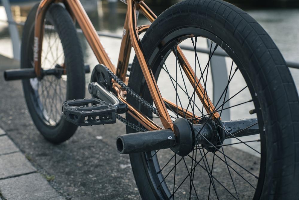 Radio Bikes Leon Hoppe Bike Check BMX