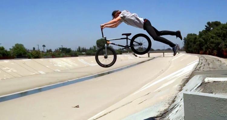 S&M Bikes Mike Stahl BMX video