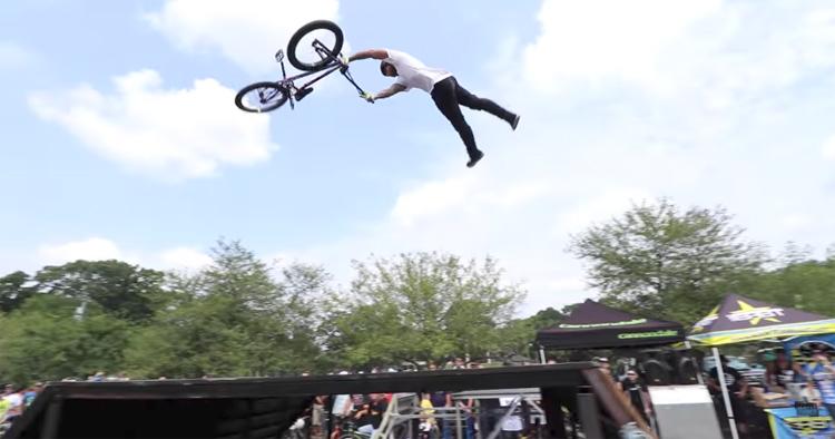 Scotty Cranmer BMX Jam Highlights