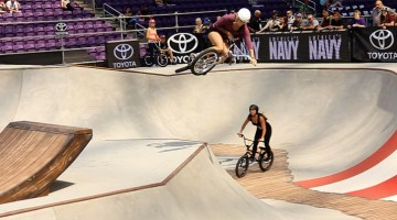 X Games 0217 Womens BMX Session Video