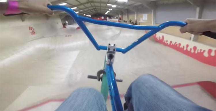 Billy Perry Adrenaline Alley BMX video GoPro