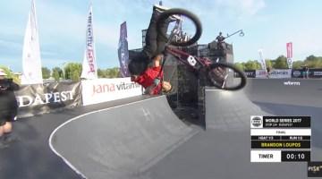 FISE Budapest Brandon Loupos BMX Park