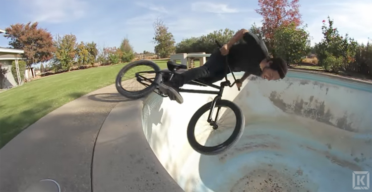 Kink BMX Saturday Selects Chad Osburn Pool Party Video