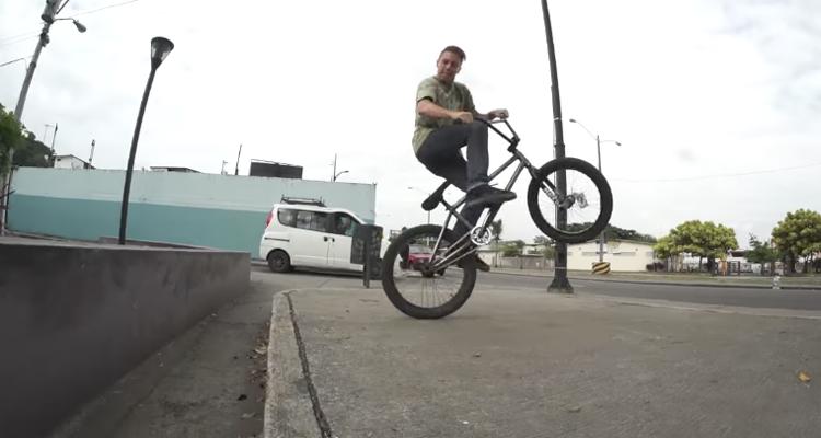 Mike Hinkens – BMX Street In Ecuador