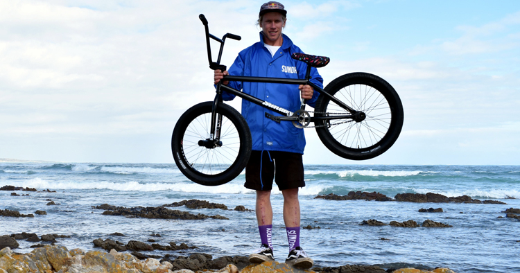 Murray Loubser On Odyssey And Sunday Bikes AM Teams