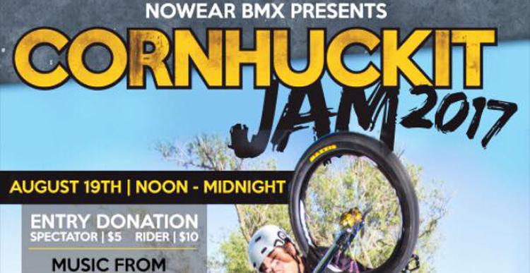 2017 Nowear Cornhuckit Jam Flyer