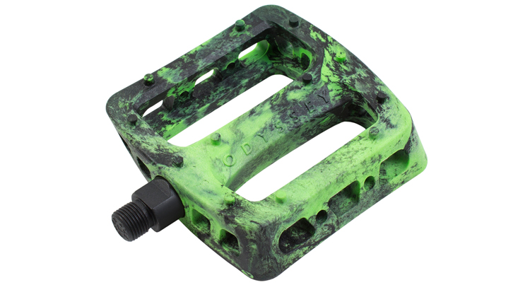 Odyssey – Green Swirl Twisted Pro Pedals