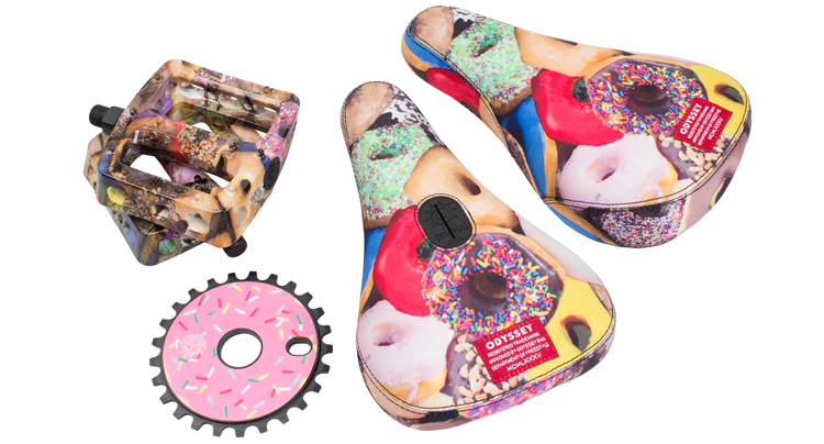 Odyssey BMX Donuts Colorway Parts